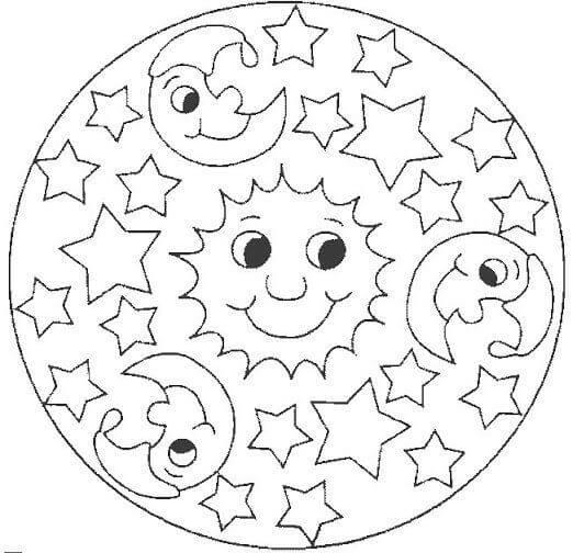 Mamma Mandala Per Bambini Chizzocute