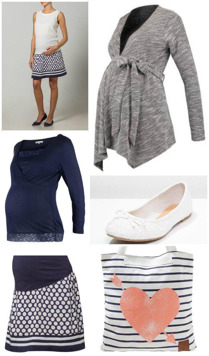 9df2eda9baa4 Outfit premaman  i look più alla moda per la gravidanza con Zalando ...
