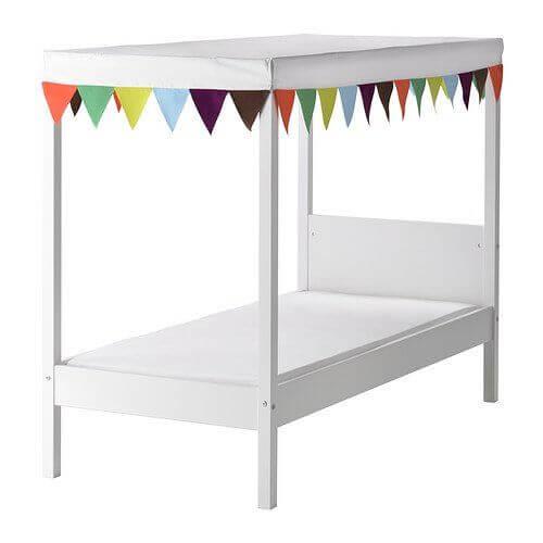 Letto A Baldacchino Ikea Prezzo.Lettino Montessori Da Ikea Chizzocute