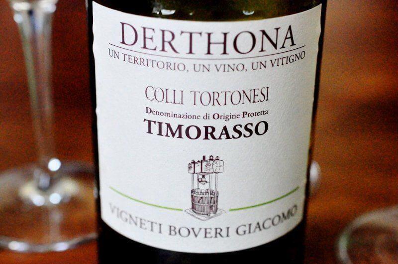 vino bianco piemontese timorasso
