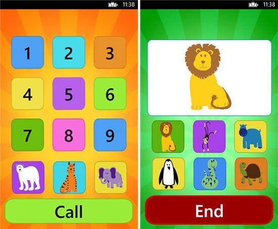 App per bambini - baby toy phone