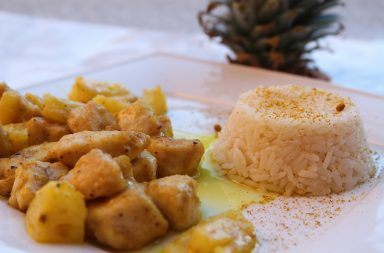 ricetta-pollo-allananas
