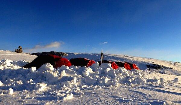 Biwak Camp Villandro sull'Alpe di Villandro