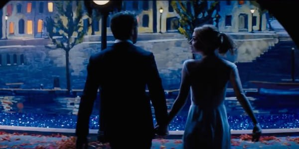ryan Goslin - Emma Stone La La Land