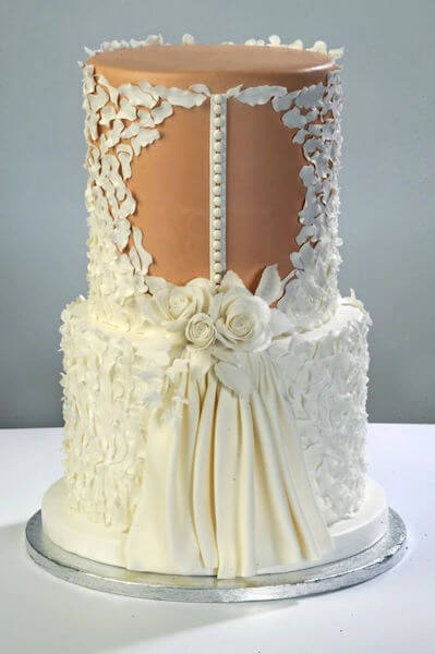 Wedding Dressed cake