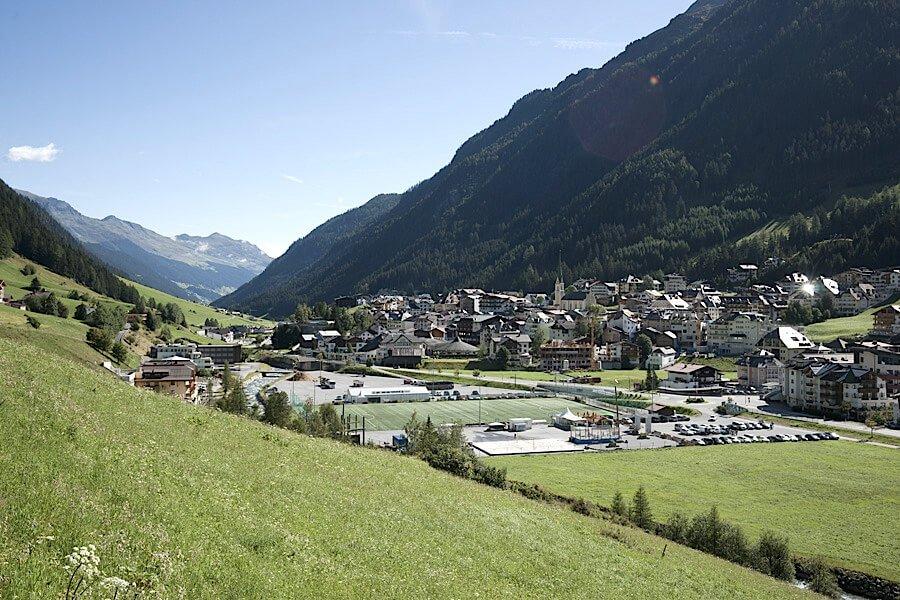 Ischgl_montagna in estate