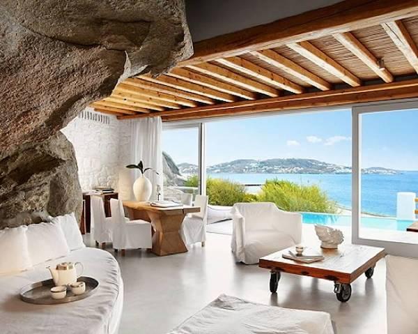 Interior design mediterraneo