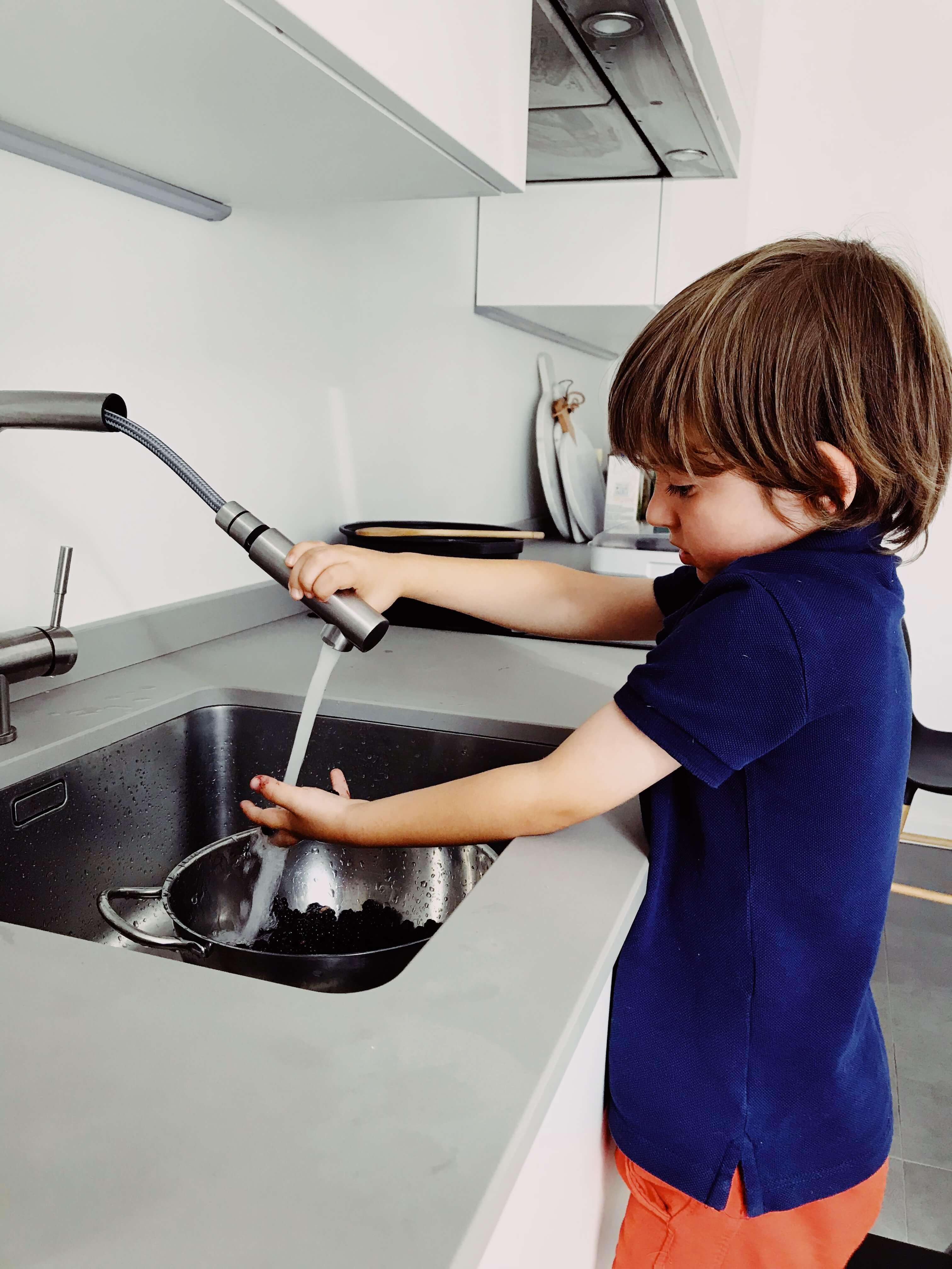 Bambini cucinare