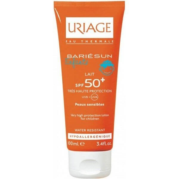 uriage_bariesun_spf50_fragrance_free_lotion_children