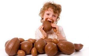 Uova Pasqua bambini