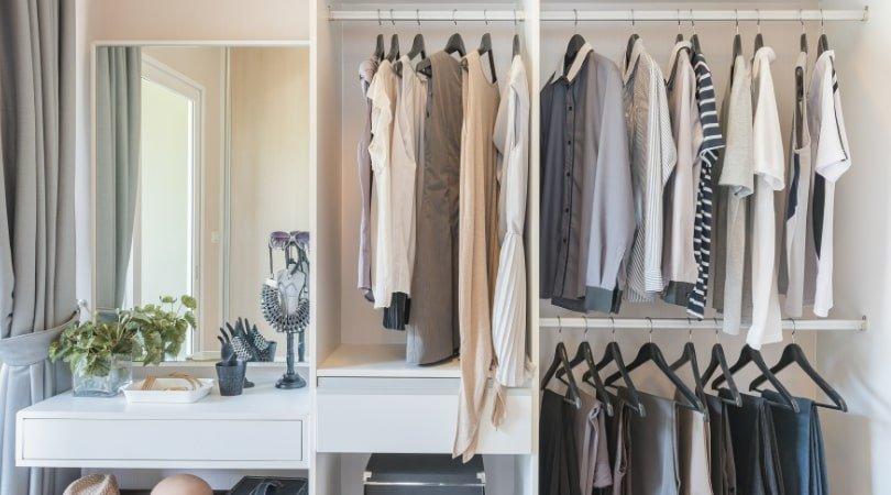 10 regole decluttering armadio