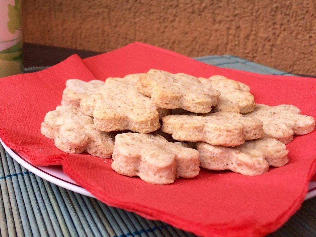 Biscotti di pasta frolla Vegan