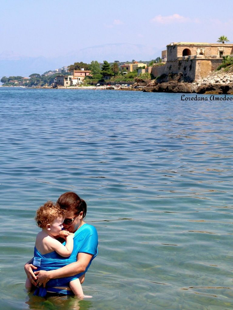 Beachfront Baby IdeaGioconda fascia acquatica