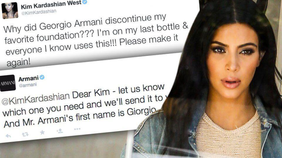 Kim Kardashian suggerisce a Twitter di poter modificare i Tweet