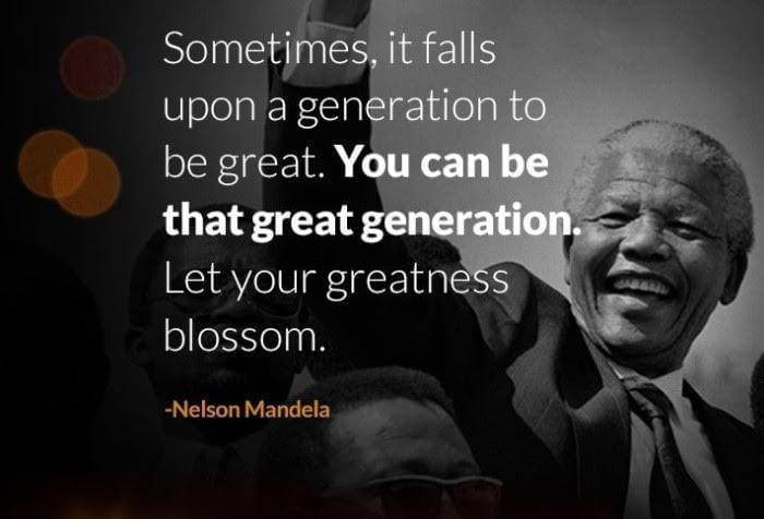 Nelson Mandela - Fare volontariato