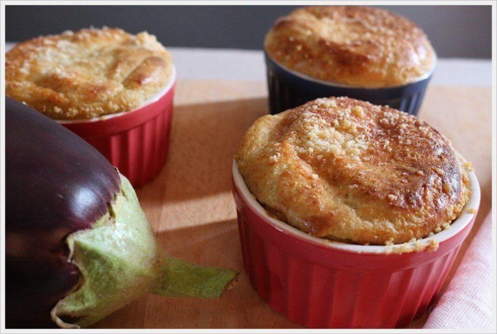 Muffin di melanzane