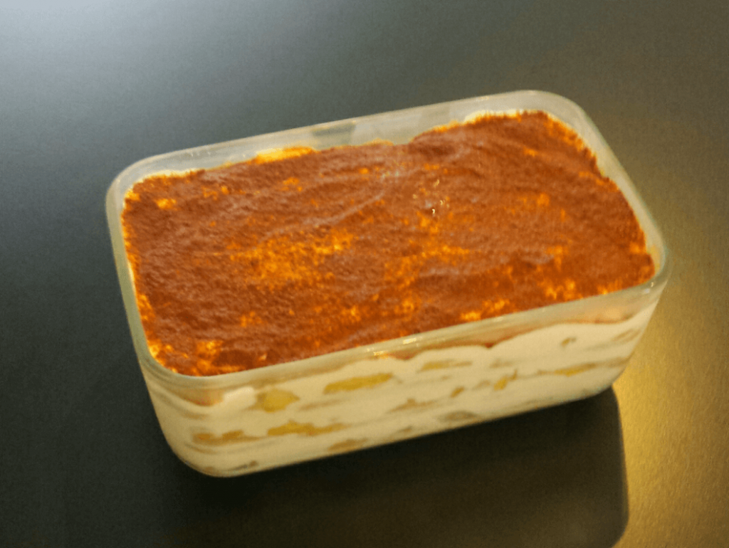 Tiramisù light mele e cannella