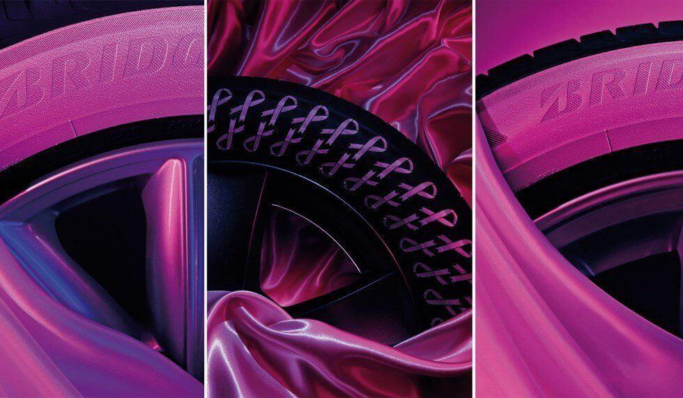 bridgestone pneumatici rosa