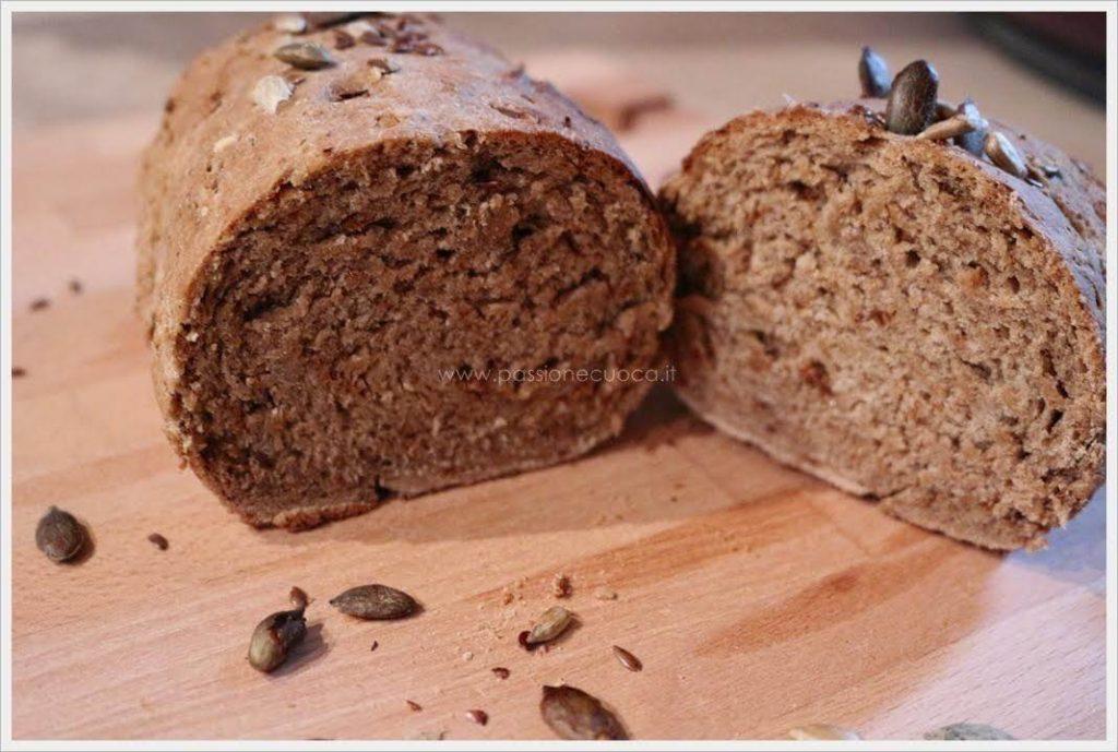 Pane fatto in casa ai cereali