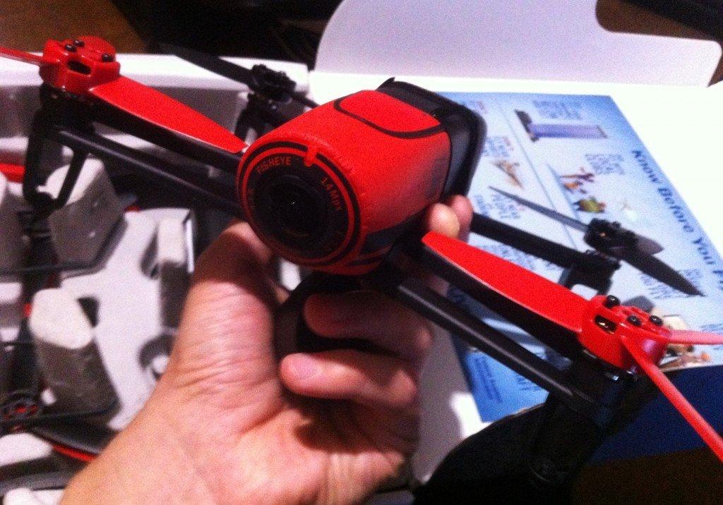 Parrot BeBop drone quadricottero