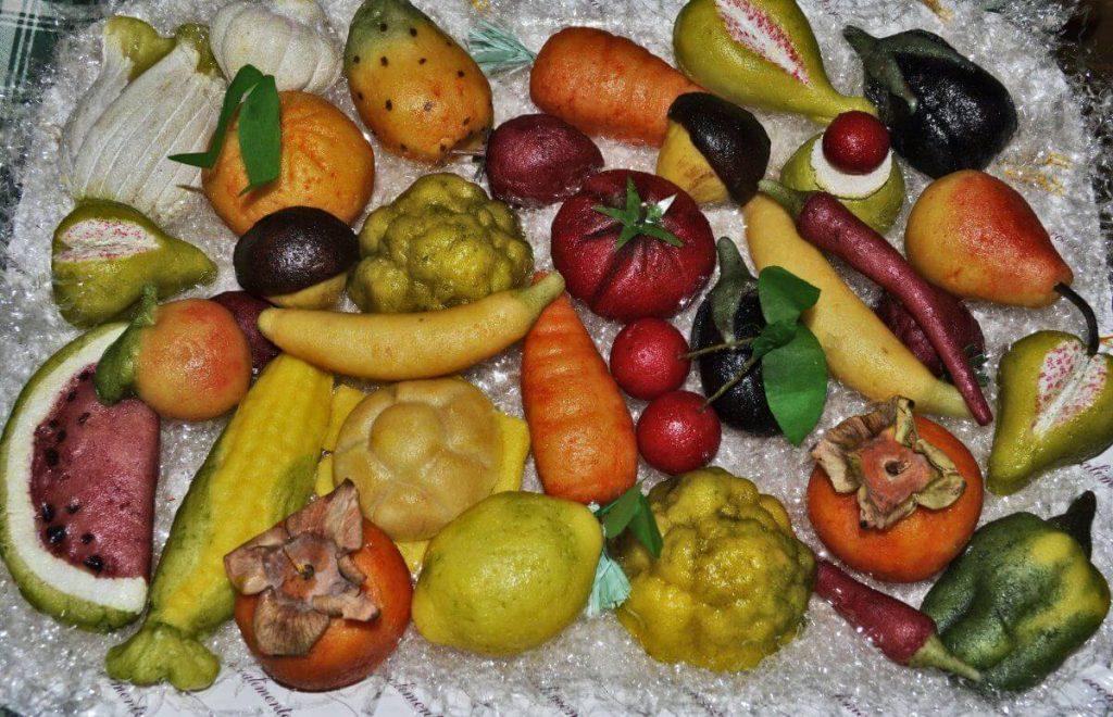 commemorazione dei morti frutta martorana