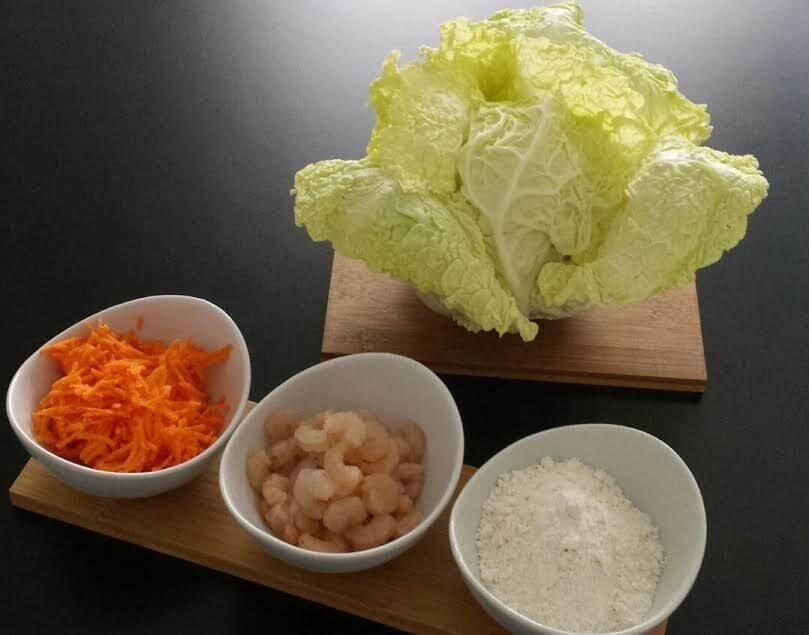 ingredienti ravioli al vapore