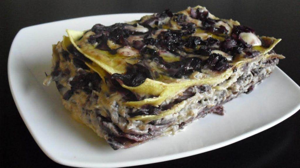 Lasagne alle verdure ricetta con besciamella vegan