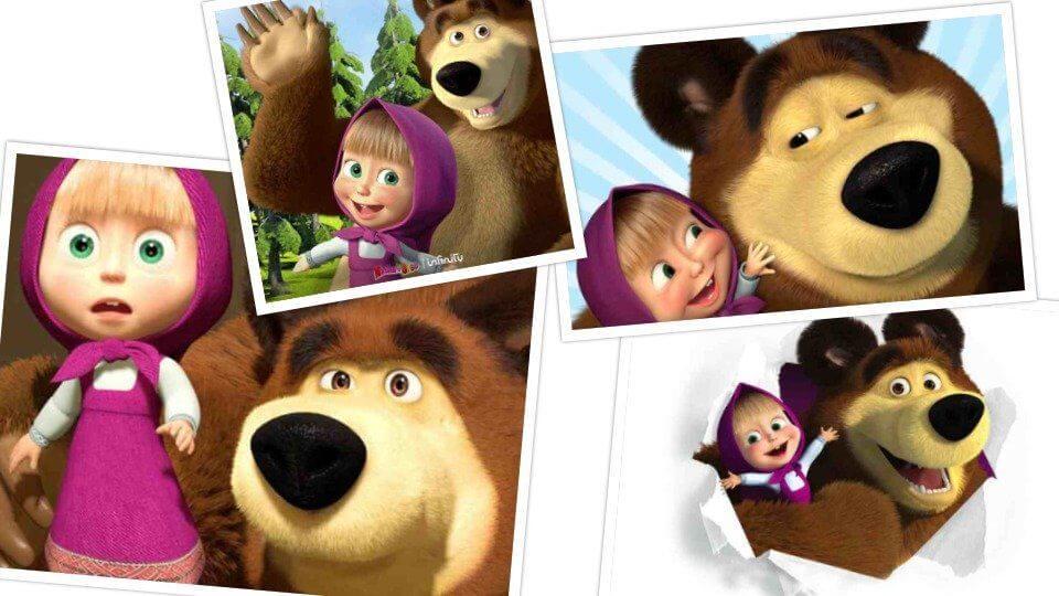 Masha e orso perché piace tanto ai bambini chizzocute