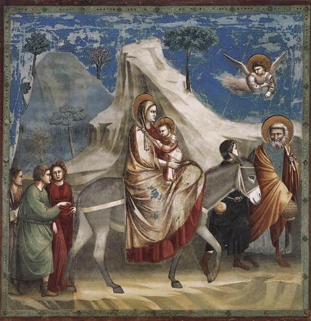 babywearing e Giotto
