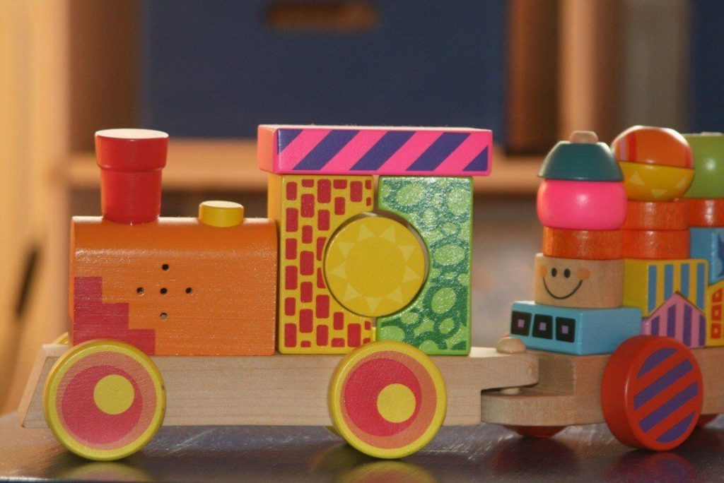 giocattoli educativi in legno