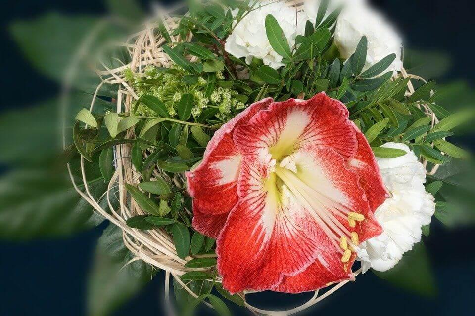 matrimonio a natale bouquet