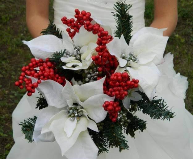 Matrimonio Natale Idee : Matrimonio a natale idee per il bouquet chizzocute