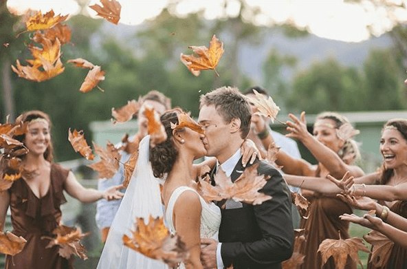 matrimonio in autunno