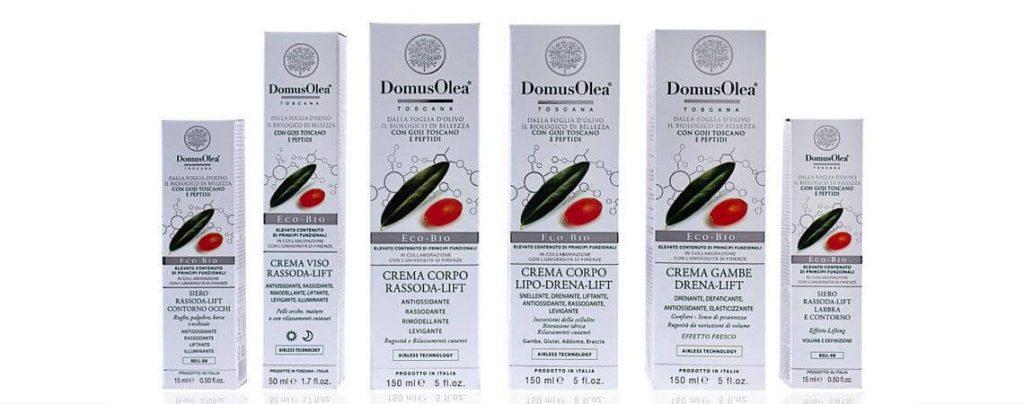 Cosmetici biologici domus olea toscana