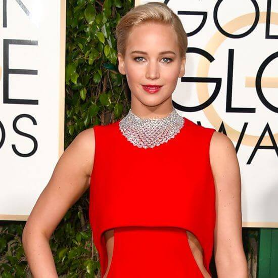 Golden Globe Jennifer Lawrence