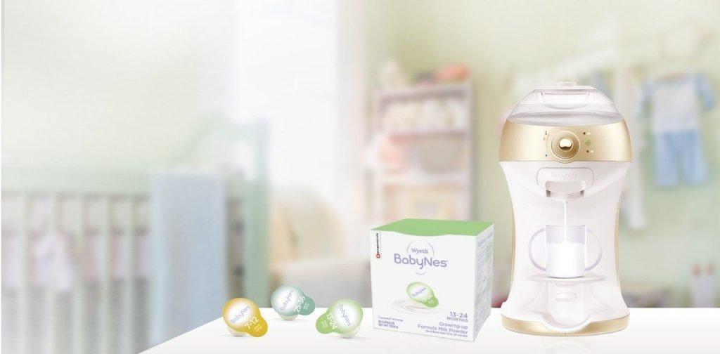 macchinetta cialde latte neonati