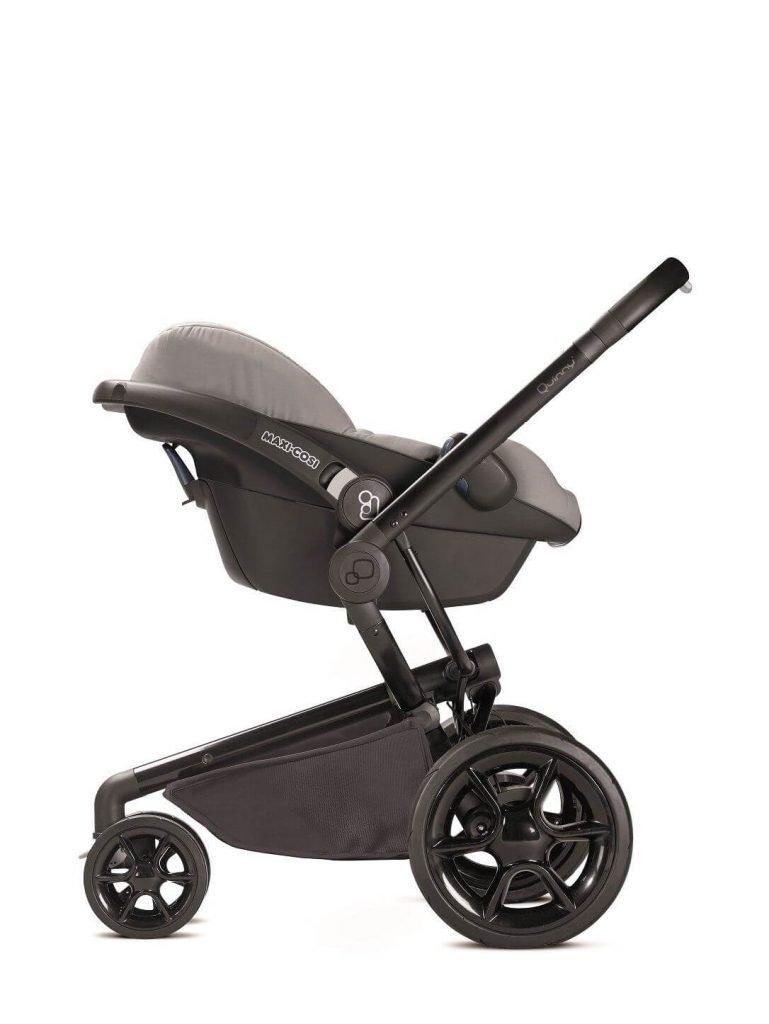 76609720 Quinny Stroller Car Seat Moodd Maxi-cosi Pebble Grey Reworked Grey 2016