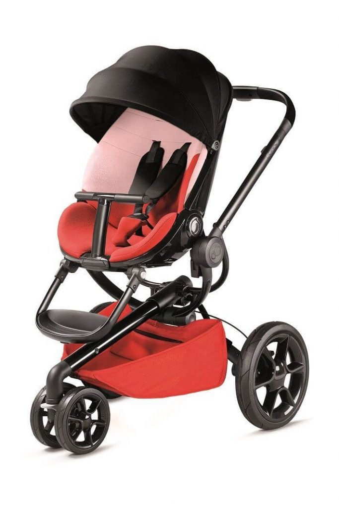 76609730 Quinny Stroller Moodd Red Reworked Red 2016