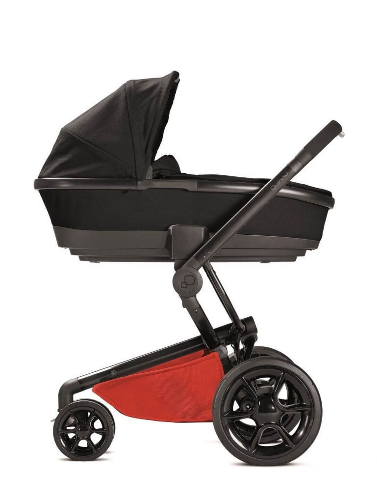 76609730 Quinny Stroller Foldable Carrycot Moodd Red Reworked Red 2016