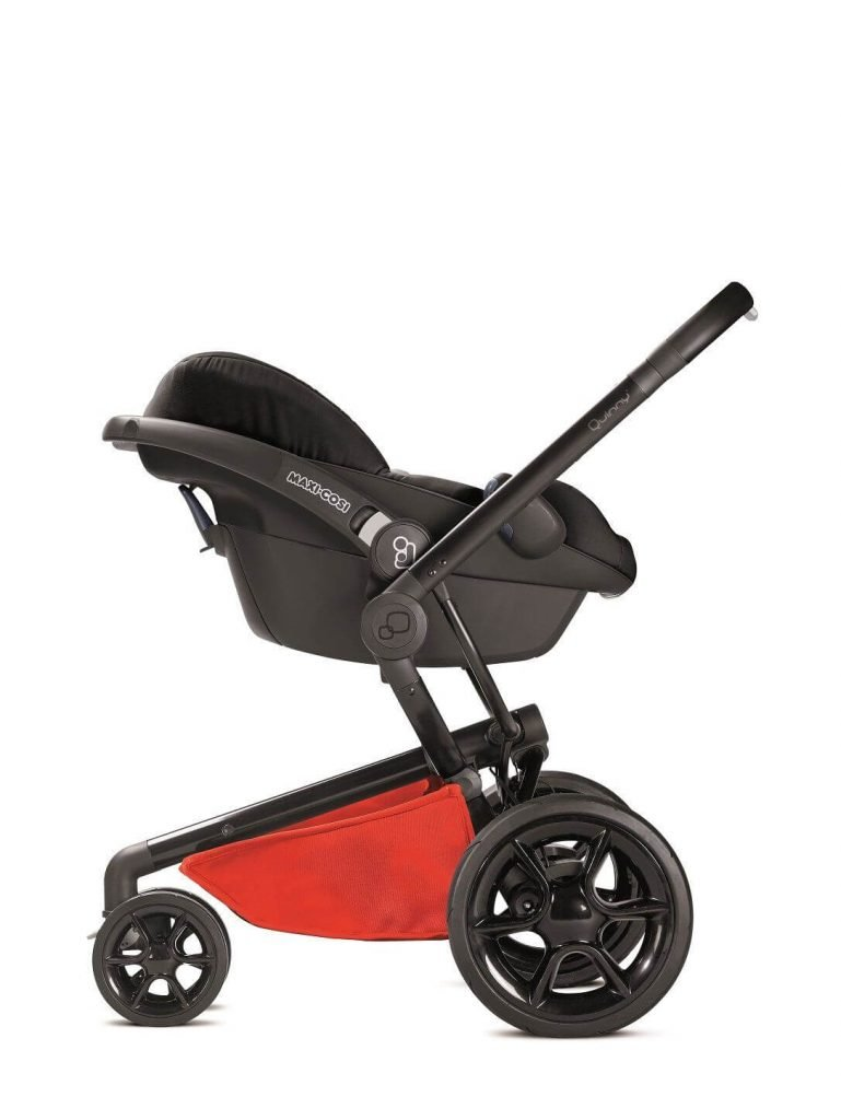 76609730 Quinny Stroller Car Seat Moodd Maxi-cosi Pebble Red Reworked Red 2016