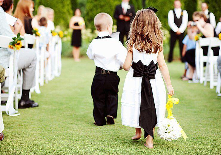 7c7fe4c8d2cd Abiti da cerimonia  paggetti e damigelle e il loro ruolo al matrimonio