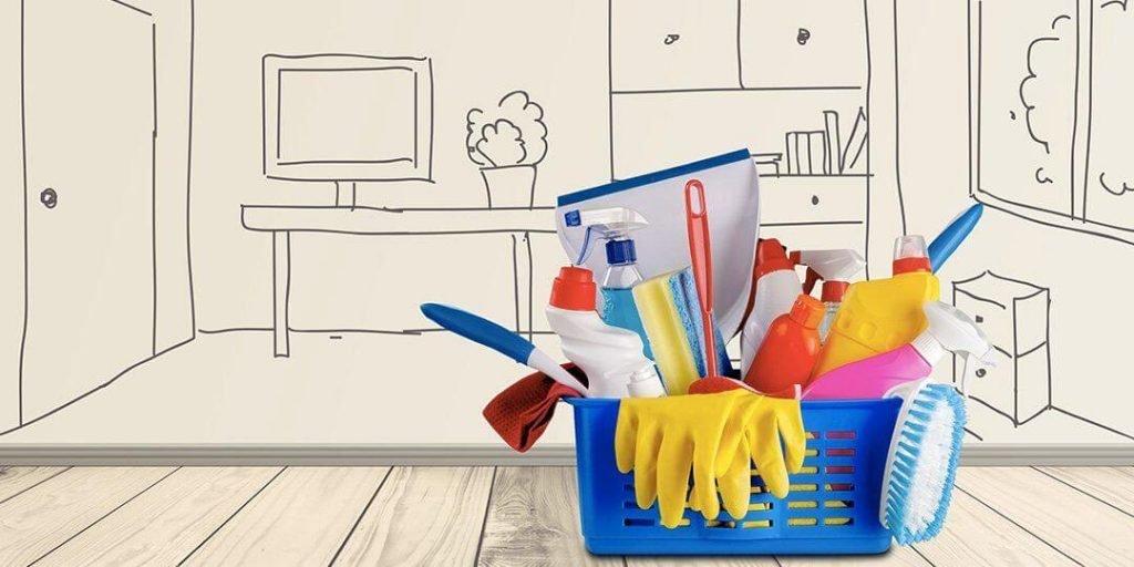 organizzare pulizie di casa