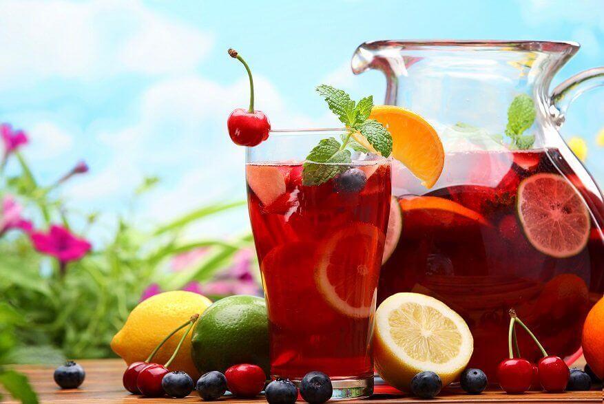 ricetta Sangria analcolica
