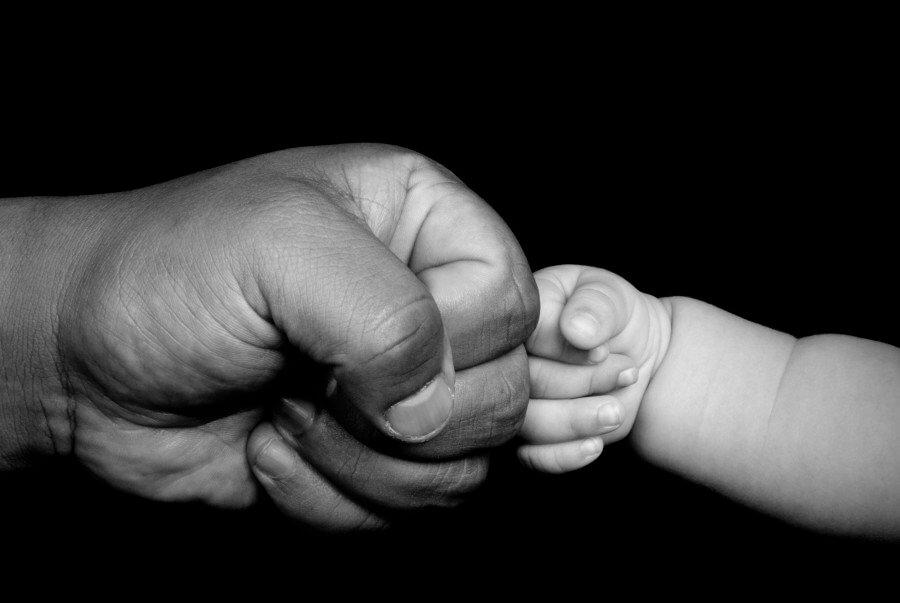 Lettera al papà da un neonato