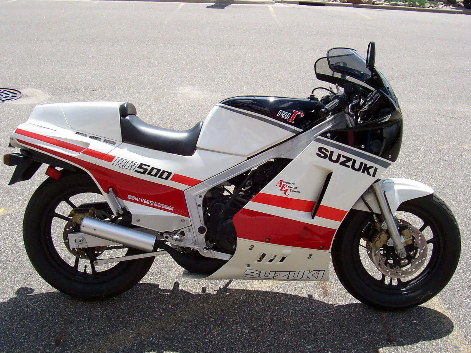 SUZUKI RG GAMMA 500