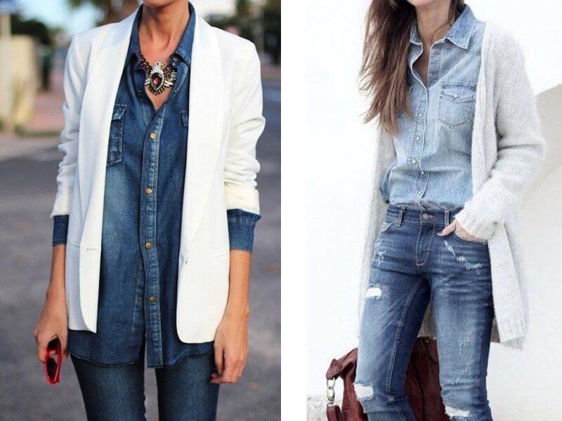 d4fc8cca59 Come abbinare la camicia di jeans? Ecco gli outfit possibili ...