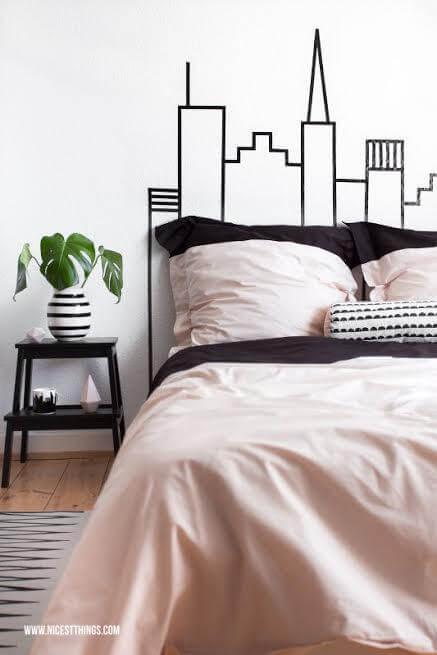 Idee per decorare la testata del letto matrimoniale in maniera fai ...