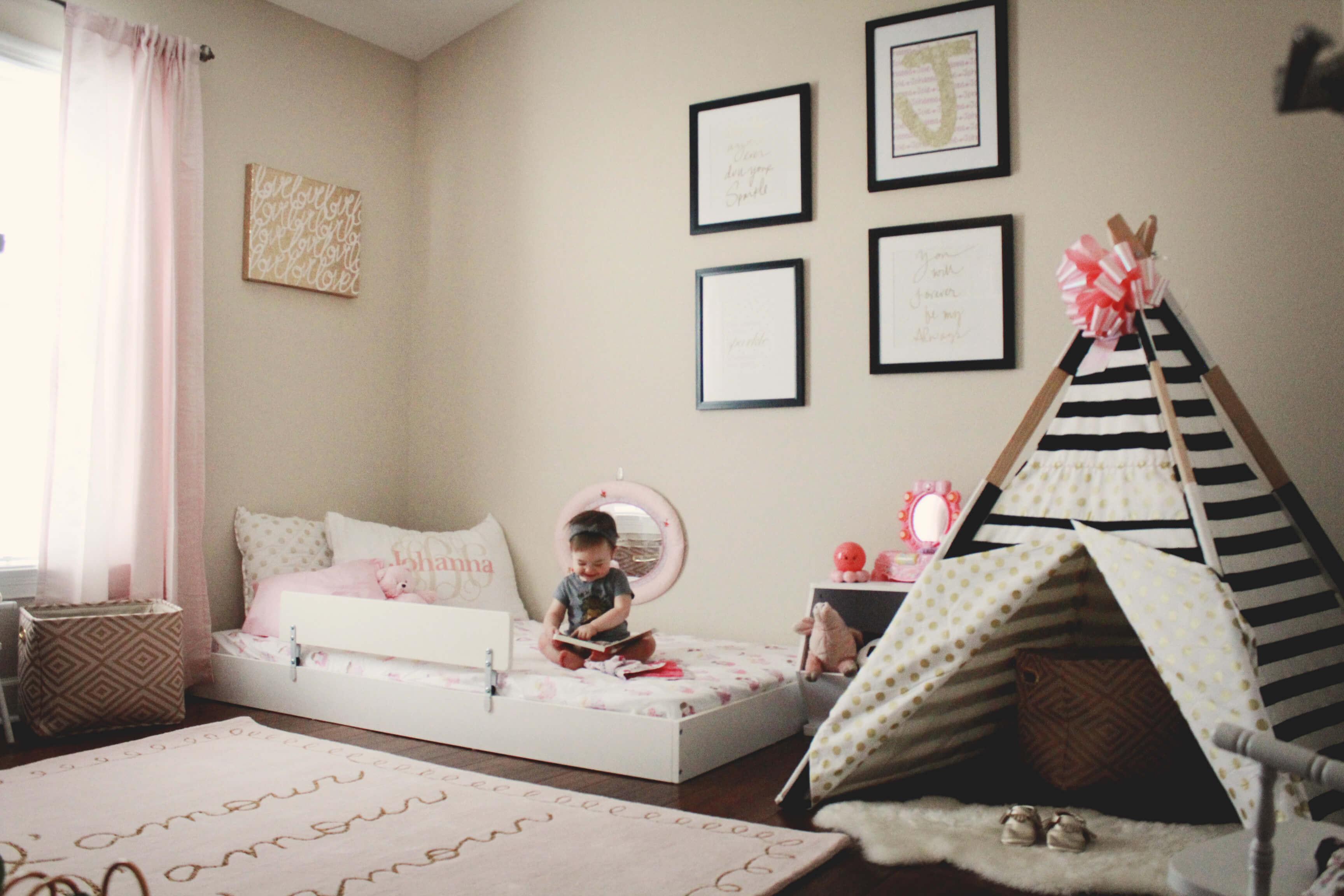 Letti Bassi Per Bambini Ikea.Lettino Montessori Da Ikea Chizzocute
