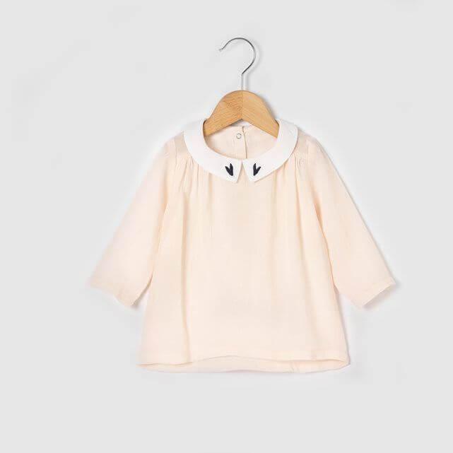 moda francese bambini La Redoute camicia