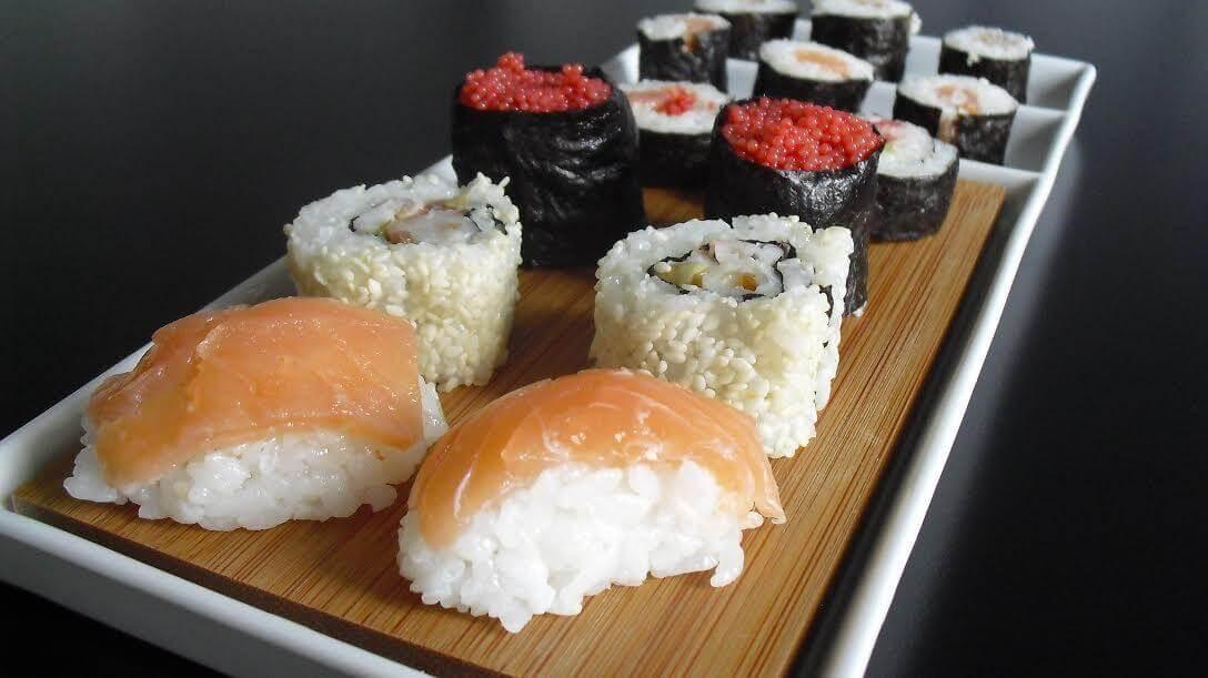 sushi come si prepara